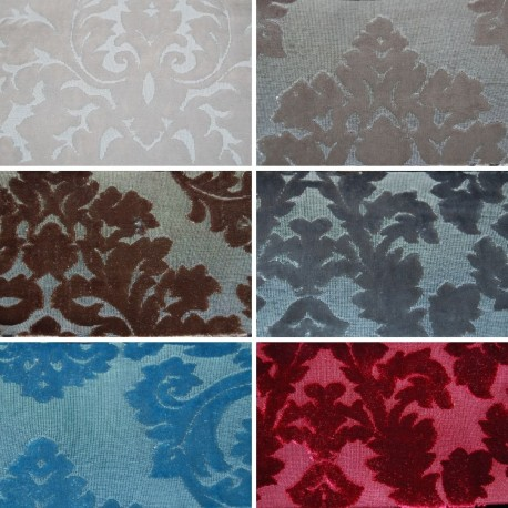 LADY X390 - Tessuto per divani poltrone 100% Poliestere 6 varianti