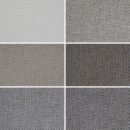 PLAY X171 - Tessuto per divani poltrone 92% Poliestere 8% Cotone 6 varianti