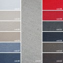 FIRST F957 - Tessuto per divani poltrone 69% Cotone 31% Poliestere 11 varianti