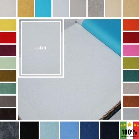 LAVALA' - Tessuto per divani poltrone 100% Poliestere 30 colori