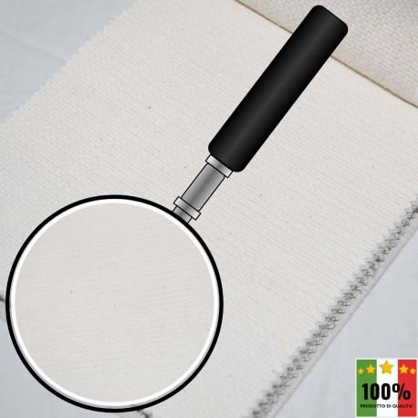 ECRU' 404 - Tessuto per divani poltrone 66% Cotone 34% Poliestere