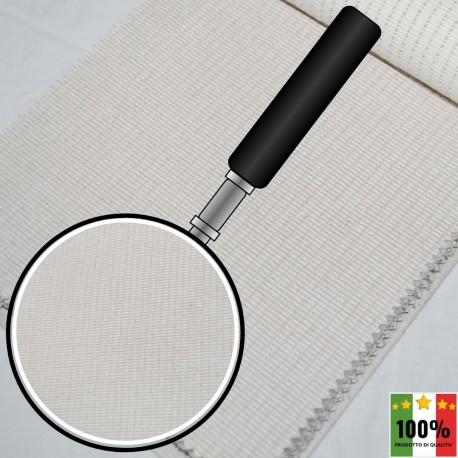 ECRU' 407 - Tessuto per divani poltrone 50% Cotone 10% Viscosa 10% Lino 30% Poliestere