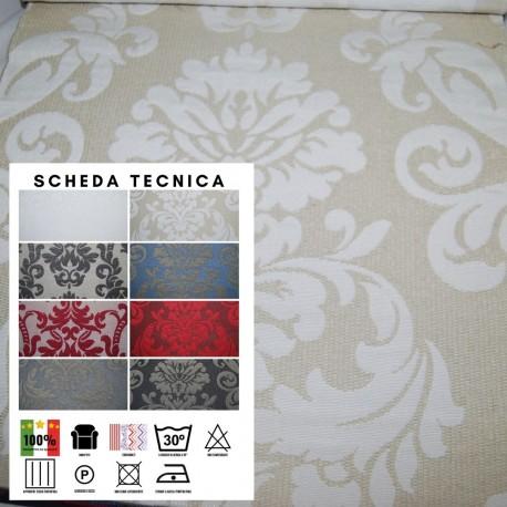 ASTREA 923 - Tessuto per divani poltrone 77% Cotone 23% Poliestere 8 varianti