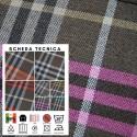RI-QUADRI X011 - Tessuto per divani poltrone 100% Poliestere 7 varianti