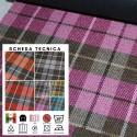 RI-QUADRI X013 - Tessuto per divani poltrone 100% Poliestere 7 varianti