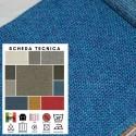 INTRECCI X276 - Tessuto per divani poltrone 81% Poliestere - 16% Acrilico - 3% Viscosa 11 varianti
