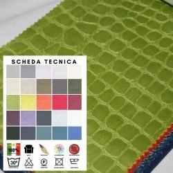 TOCCAMI - Tessuto per divani poltrone 100% poliestere 25 colori