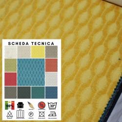 BEE X351 - Tessuto per divani poltrone 100% Poliestere 13 varianti