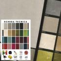 VELU' - Tessuto per divani poltrone 100% Poliestere 33 varianti