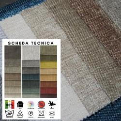 REPOSE - Tessuto per divani poltrone 100% poliestere antimacchia 22 colori