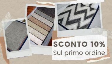 BUONO SCONTO DEL 10 % SUL PRIMO ORDINE